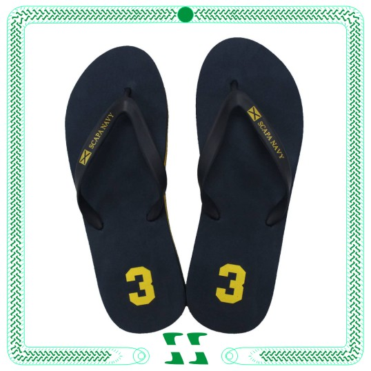 Cheap plain black flip flop