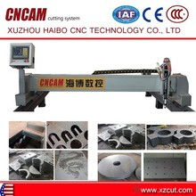 fabric cutting table with cutting machine