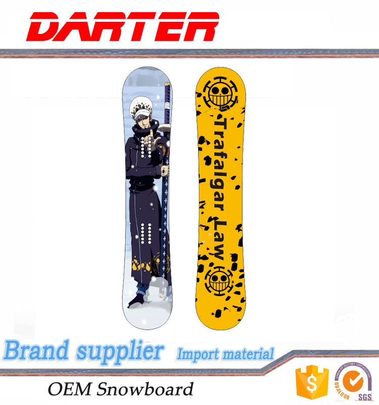 China Alibaba snow ski board double camber american snow ski