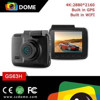 New Arrival 2.4'' Mini Dash Cam 1080P With Built-in GPS Private Design 4K WiFi Car Camera Novatek 96660 Car DVR Recorder GS63H