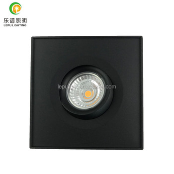 2018 new Gyro led cob surface downlight with led downlight with 5 seconds junction box warm white 2700k 3000k 4000k fast