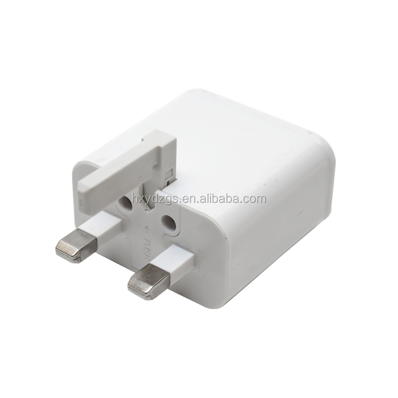 3-Port Dual Multiple USB Wall Charger Universal Portable Rapid Travel Charger for Smart Phone