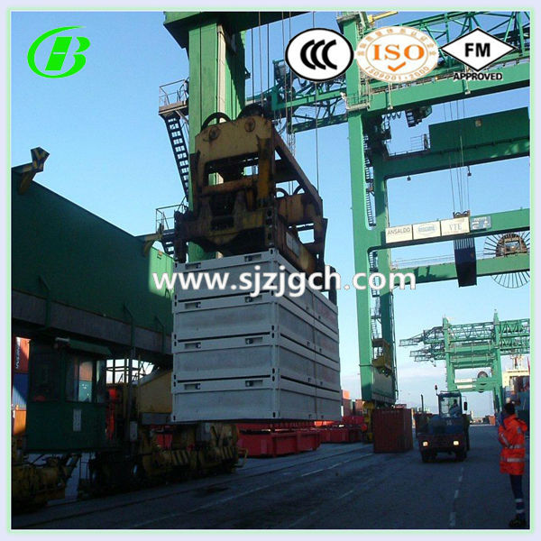 shipping standard foldable prefabricated house container