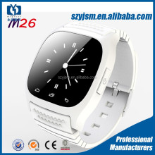 2016 Hot New M26 bluetooth smart watch for android phone pk U8 smart watch