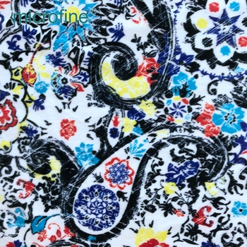 professional design polyester woven digital printing home textiles fabric