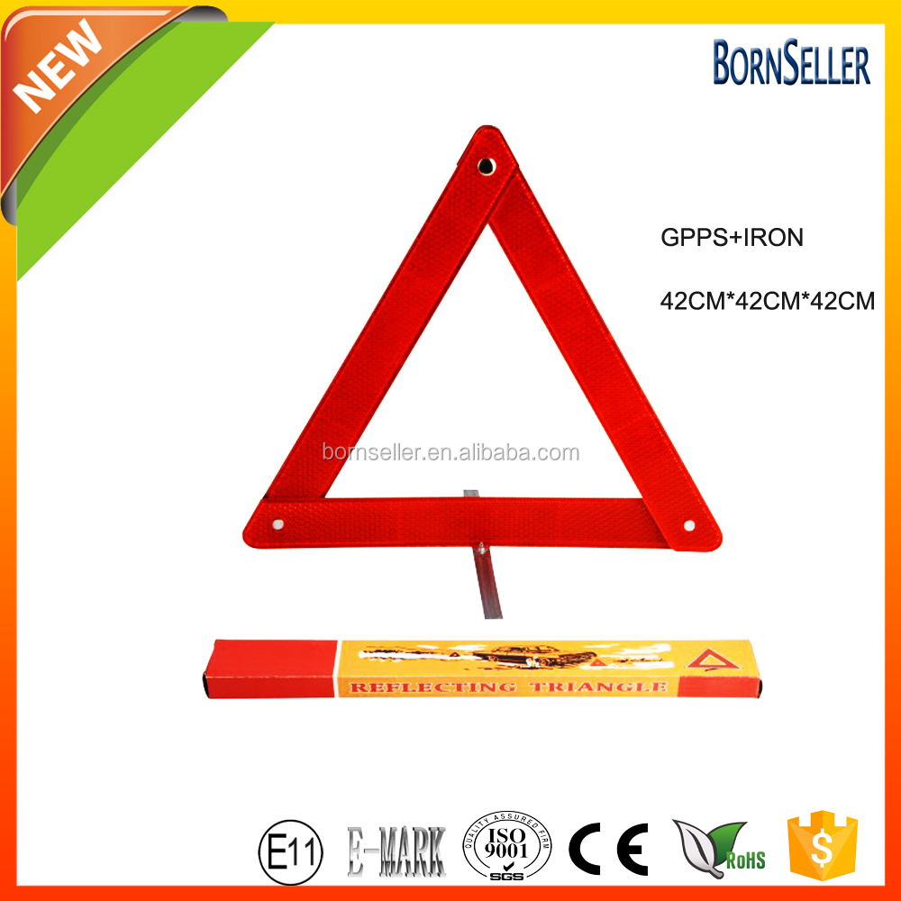 first aid kit traffic safety reflective led triangle
