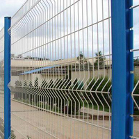 PVC Coated railway wire mesh fence