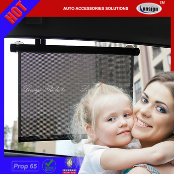Magnetic foldable waterproof sun protection car sunshade