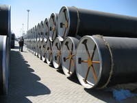 welded spiral pipe SSAW TUBE PE COATED PIPELINE BIG SIZE