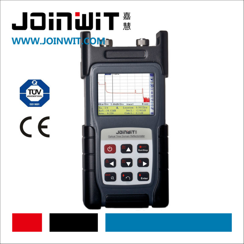 JOINWIT,JW3302,NiMH rechargeable battery and AC adapter for power supply,OTDR,optical fiber cable tester