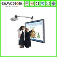 High definition Interactive electronic whiteboard 4 users multi-touch smart cheap best sells board support OEM SKD ODM