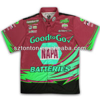 custom racing uniform shirts