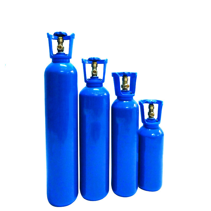 5liter 10L mini Factory Direct Sale Competitive Price Different Sizes High Pressure Seamless Steel empty Oxygen <strong>Cylinder</strong>