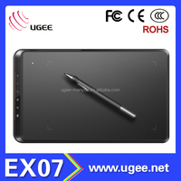 UGEE EX07 graphics drawing tablet electronic writing pad