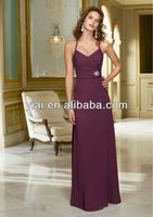 LL035 Long Beautiful Bridesmaid Dress 2013