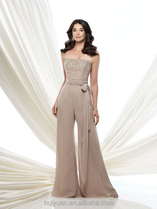 Mother of the bride chiffon pant suits mother of the bridal mother of