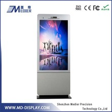 Floor Standing 55 Inch Advertising Indoor Screen Network LCD Media Player