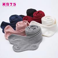 All Match Girls Cotton Vertical Striped Tights Pantyhose Korea Leggings Children Tights