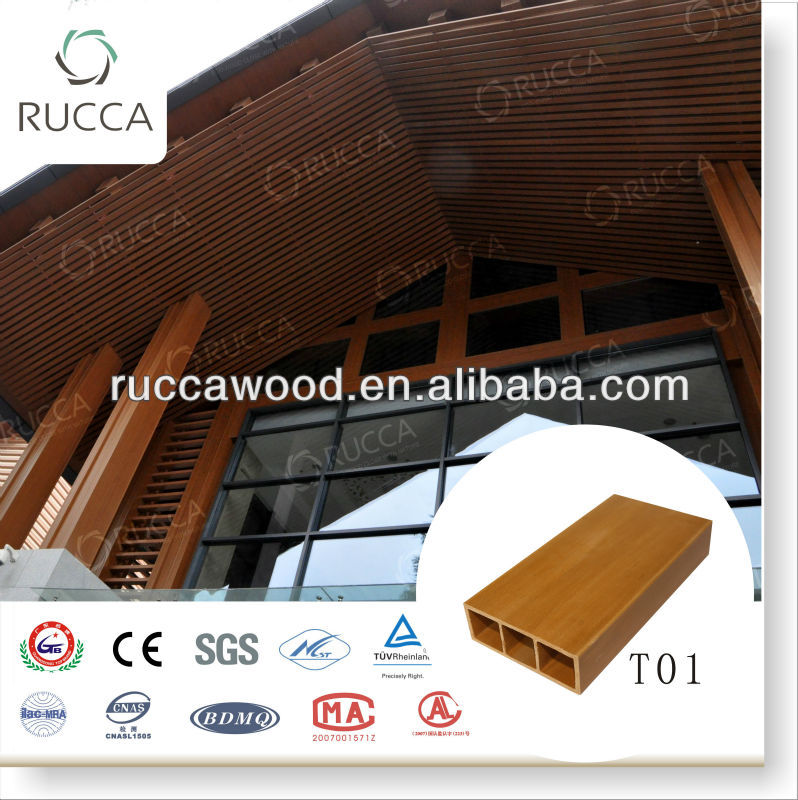 Rucca WPC hardwood teak timber 100*35mm China