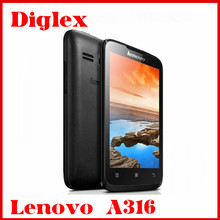 Cheapest China Wholesale Lenovo A316 Smarphone 4.0 inch Dual Core MTK6572 Android Mobile Phone Dual Sim Card 2MP 3G Cell Phone