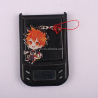 Popular cute Acrylic keychain, beautiful keyring