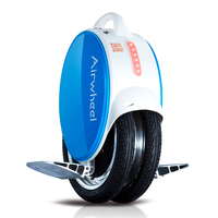 Airwheel Smart green travel unicycle 800W Electric bicycle with CE certificate