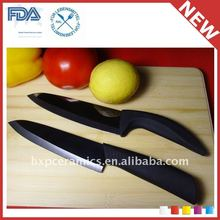 "3"" to 8"" Color Handle White Black Mirror Surface Ceramic Knife"