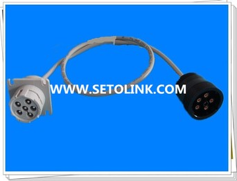 J1708 6 PIN MALE TO FEMALE ADAPTER CABLE