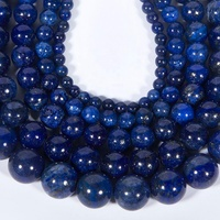 Wholesale Natural Lapis Lazuli Stone Beads for Jewelry Making DIY Handmade Crafts Necklace Bracelet