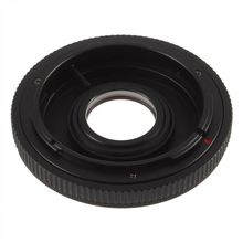For Canon FD Lens to EOS EF Body Mount Adapter with glass & cap