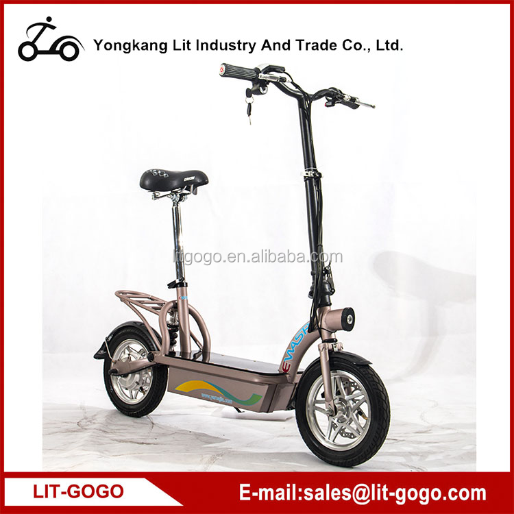 Powerful High Speed Lithium Battery 300W CE electric scooter,electric