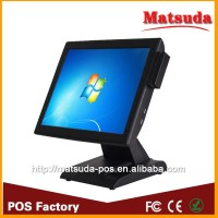 15 inch fanless pos terminal touch cash register Windows pos system