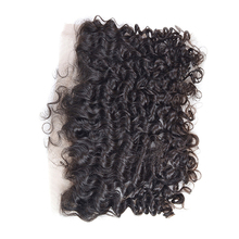 KBL wholesale hair piece brazilian human hair lace frontal 13x4,accept paypal lace frontal hair pieces for black women