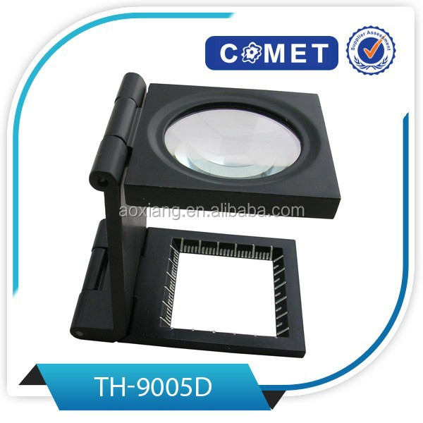 Best selling TH-9005D 8X Linen Tester Folding Magnifier