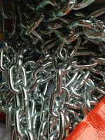 Low Price Galvanized Heavy Metal Gold Chain Link