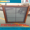 Manufacture&trading pvc jalousie window manufacturer with double glass