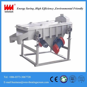 High Quality sand Linear Vibrating Screen Made in China