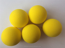 High elastic colored eva foam ball air cannon foam ball