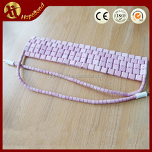 Thermal shock resistance customized Flexible Ceramic Pad Heater