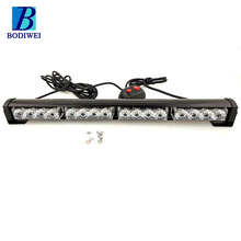 New product 4*4 leds Aluminum Housing car diy led light bar one row led offroad light bar