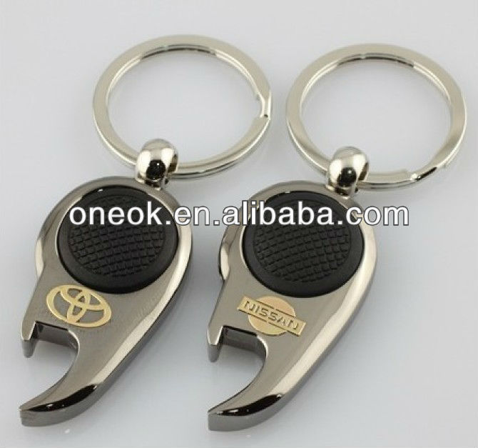 multifuntion car emblem promotional keychains