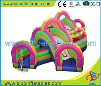 garden giant inflatable bouncer banners for kid's games