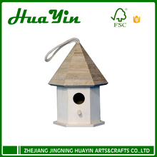 wholesale wooden hanging birds nest