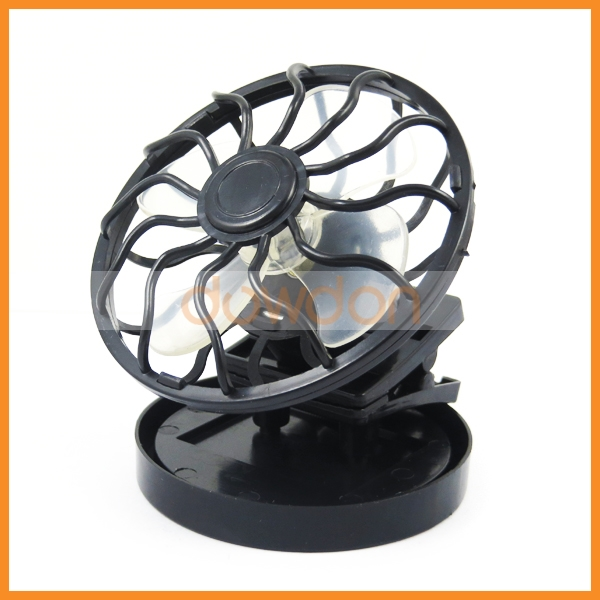 Promotion Gift Outdoor Clip On Hat Cap Mini Portable Solar Fan