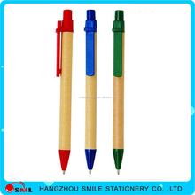 Small Fast Selling Items plastic ecycled paper promotional ball pen