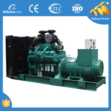 Power genset open type 900KVA for industrial use powered by CUMMINS KTA38-G2A
