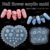 TSZS heart shape Silicone Mold Daisy Flowers Resin Charms Mold For DIY Making Jewelry Nail Art Mold