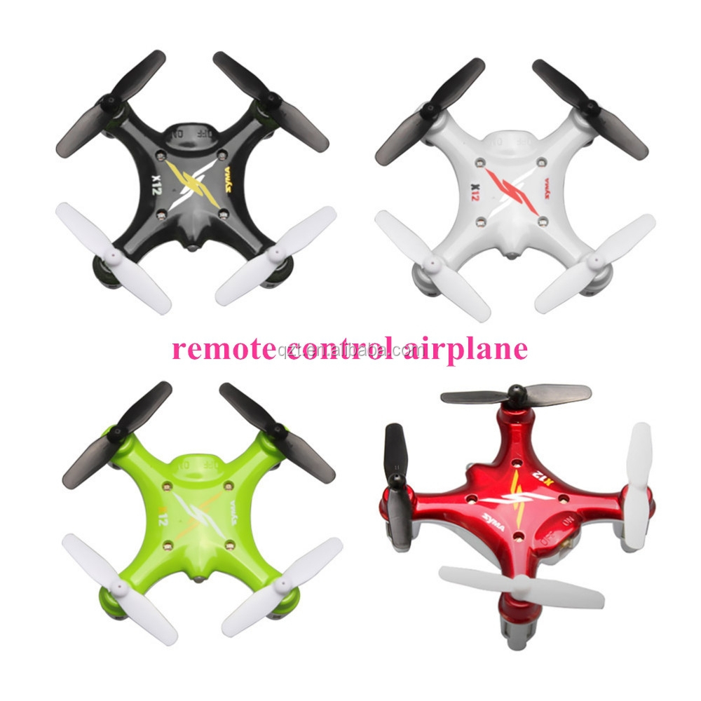 X12 2.4G Remote Control Quadcopter Toy Drone Children'S Gift 4 Channel RC Helicopter