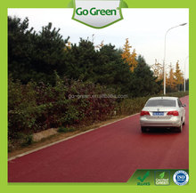 Coloured bitumen / pigmentable binder / heavy traffic driveway color asphalt