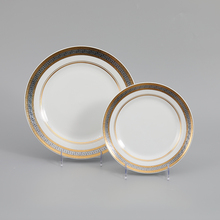 Wedding Tableware Decoration Gold <strong>Plates</strong> Home Hotel Dinner Set Ceramic <strong>Plates</strong>